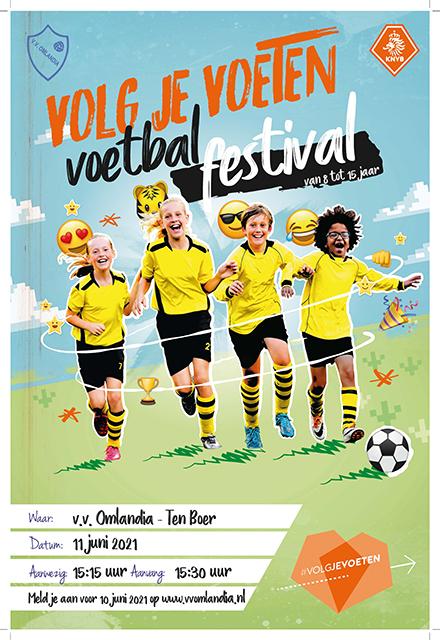 Voetbalfestival gaat door vrijdag 11 juni!
